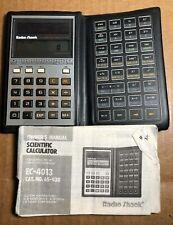Vintage Radio Shack | EC-4013 | Scientific Calculator | With Manual | Solar