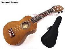 "<Holiday Sale>Woodnote/ Natural Brown 21"" Wooden Soprano Ukulele+Free Bag"