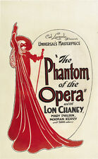 THE PHANTOM OF THE OPERA Movie POSTER 27x40 G Lon Chaney Sr. Norman Kerry Mary