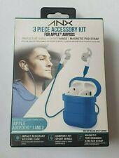 ANX 3 Piezas Kit De Accesorios Para Apple 1 & 2 Inalámbrico Auriculares-Azul
