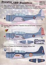 Print Scale Decals 1/72 DOUGLAS SBD DAUNTLESS Dive Bomber