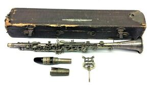 Used Peddler Co Elkhart Indiana Three Star BC Co USA Clarinet Music Instrument