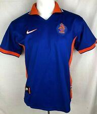 Holland Football Shirt 1997-98 Away (Excellent) S Soccer Jersey Top Netherlands