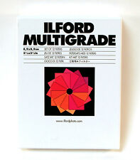 Ilford Multigrade set of 12 Filter Kit, 8.9cm x 8.9cm