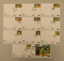 2019 Gruffalo Set of 11 PHQ Postcards 11 Different Postmarks USED BACK