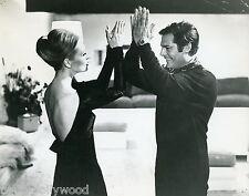 FAYE DUNAWAY MARCELLO MASTROIANNI  AMANTI 1968 VINTAGE PHOTO ORIGINAL #1