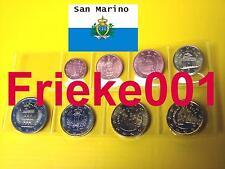 San Marino - San Marin - 1 cent tot 2 euro 2008 unc.