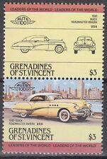 ST Vincent Grenadines 1984 ** mi.350/51 Cars Cars Buick Roadmaster [sq6442]