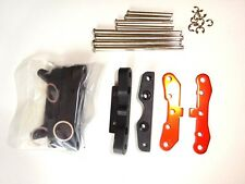 NITRO 1/8 RC TRUGGY HPI TROPHY 4.6 SUSPENSION ARM HOLDER SET WITH PINS NEW