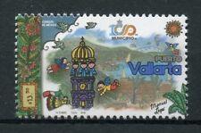 Mexico 2018 MNH Puerto Vallarta Municipio 1v Set Tourism Flowers Nature Stamps