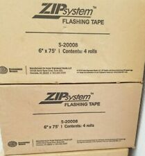 """New listing 4 rolls of Huber Zip System Flashing Tape 6"""" x 75' Self-Adhesive"""