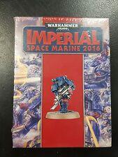 Warhammer 40k Imperial Space Marine Limited Edition 30th Anniversary BNIB