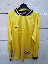Maillot goal NIKE jaune n°1 keeper shirt L