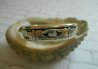 PSCL Peter Stone Sterling Silver 925 Claddagh Ring  Size  14.25 - 14.5   RE20LN3
