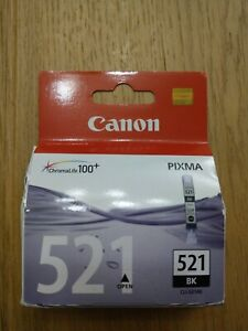 Original Druckpatrone Canon 521 BK