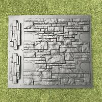 Set Moulds Stone VENEER for Concrete Plaster Wall Stone Brick Tiles