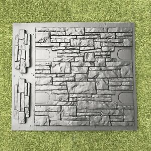 Set Molds Stone VENEER for Concrete Plaster Wall Stone Brick Tiles Cement