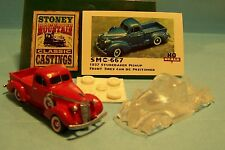 SMC-667 1937 Studebaker Pickup  HO-1/87th Scale Clear Resin Kit  (unfinished)