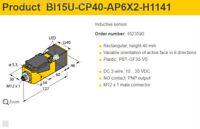 New Turck Proximity Sensor BI15U-CP40-AP6X2    #n4650