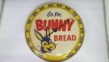 Vintage Advertising Bunny Bread Thermometer J-100