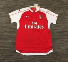 Puma Arsenal FC Home Replica Shirt High Risk Red White Gold Size L