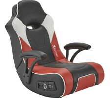 X ROCKER G-Force 2.1 Floor Rocker Gaming Chair Black Red & White - Currys
