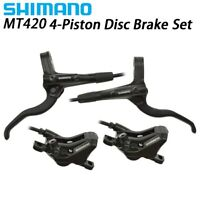 SHIMANO MT420 4piston Brake Mountain Bike Hidraulic DiscBrake SET MTB Left&Right