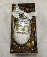 "WATERFORD Holiday Heirloom ""SANTA HO! HO! HO!"" Christmas Ornament  NEW IN BOX"