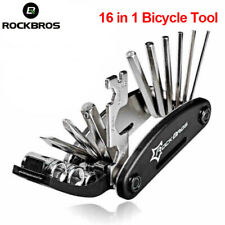 ROCKBROS 16 in 1 Bicycle Tools Sets Mountain Bike Bicycle Multi Repair Tool Kit