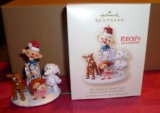 2007 HALLMARK ORNAMENT THE ISLAND OF THE MISFIT TOYS RUDOLPH RED NOSED REINDEER