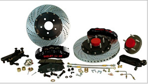 Baer Shelby Pro Plus Brake System: Rear (2005-2014)