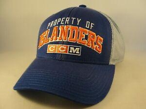 New York Islanders NHL Trucker Snapback Hat Cap CCM