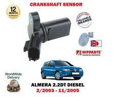 Per NISSAN Almera n16 2.2dt yd22ddt 2003-2005 NUOVO Albero a Gomiti Sensore Angolo
