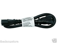 Monoprice 1.5ft 16AWG Power Extension Cord Cable 3 Conductor PC/Mon  6451