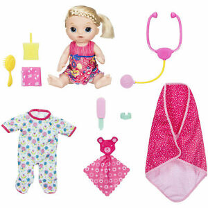 Baby Alive Sweet Tears Baby Doll Blonde NEW in Box
