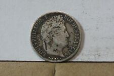 Monnaie france demi franc 50 centimes 1834 A louis philippe argent RARE