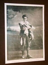 Tenore Giuseppe Anselmi di Nicolosi nel 1909 Società Italiana di Fonotipia