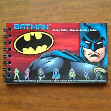 DC Batman Mattel Hot Wheels book w/ stickers loose