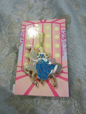 Disney Glitter Princess Carousel CInderella on Magical Horse Mystery Pin Slider