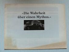 Prospekt Porsche Programm (964, 944 S2, 928 GT) Modelle 1991, 8 S., Zeitungsfor.