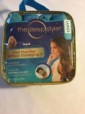 "The Sleep Styler Large Absorbent heat-free rollers 8 - 6"" Rollers - Large - NEW!"