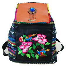 Hmong Tribal Ethnic Thai Indian rucksack embroidery Boho Hippie backpack bag 020