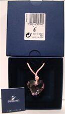 Swarovski Retired Rosaline Pink Heart Crystal Necklace 685706 NEW