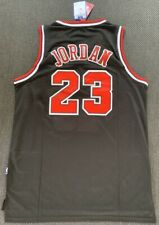 Michael Jordan Hand-Signed Black NIKE Bulls Jersey XL #23 AUTOGRAPHED w/ 2x LOA!