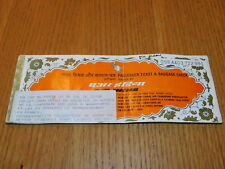 vintage 1986 TICKET billet d'avion AIR INDIA mumbay BOMBAY indes airlines PASS