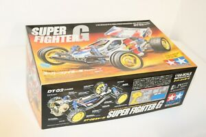 Tamiya Super Fighter G 4 WD High Performance Off Road Racer DT 02 Chassis 1:10