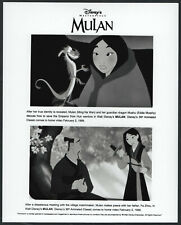 Mulan '99 CARTOON ANIMATION DISNEY FRAGON SAMURAI SWORD