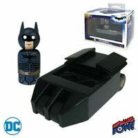Batmobile Tumbler with The Dark Knight Batman Wooden Figure pin mate