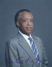 Rev Al Sharpton Signed Autographed 8x10 Photo Cvil Rights Activist MSNBC