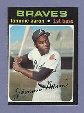 1971 Topps - #717  Tommie Aaron SP - Atlanta Braves - ExMt+